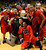 BOULDER, CO. - MARCH 16: The Raptors posed with the trophy Saturday night after the win over the Angels. The Eaglecrest High School boy's basketball beat Denver East 63-44 in the 5A championship game Saturday, March 16, 2013 at the Coors Events Center in Boulder.  (Photo By Karl Gehring/The Denver Post)