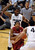 Stanford's Chasson Randle, center, drives past Colorado's Jeremy Adams during the first half of an NCAA college basketball game on Thursday, Jan. 24, 2013, in Boulder, Colo. (AP Photo/Daily Camera, Cliff Grassmick)