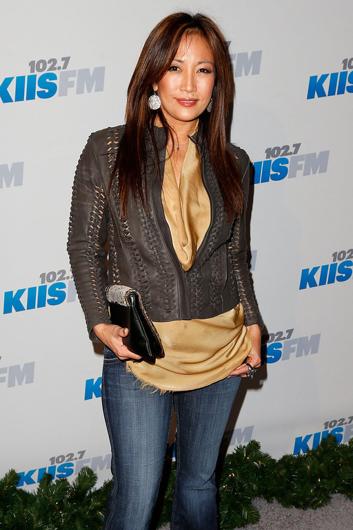 Description of . Dancer Carrie Ann Inaba attends KIIS FM's 2012 Jingle Ball at Nokia Theatre L.A. Live on December 3, 2012 in Los Angeles, California.  (Photo by Imeh Akpanudosen/Getty Images)