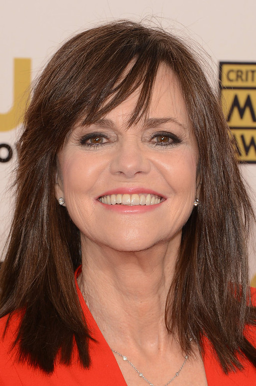 Description of . Actress Sally Field arrives at the 18th Annual Critics' Choice Movie Awards held at Barker Hangar on January 10, 2013 in Santa Monica, California.  (Photo by Jason Merritt/Getty Images)