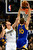 Golden State Warriors power forward David Lee (10) dunks over Denver Nuggets small forward Danilo Gallinari (8) during the first half at the Pepsi Center on Sunday, January 13, 2013. AAron Ontiveroz, The Denver Post