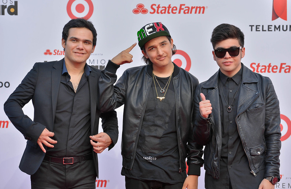 Description of . MIAMI, FL - APRIL 25:  3Ball MTY arrive at Billboard Latin Music Awards 2013 at Bank United Center on April 25, 2013 in Miami, Florida.  (Photo by Gustavo Caballero/Getty Images)