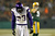 Strong safety Jamarca Sanford #33 of the Minnesota Vikings reacts in the third quarter against the Green Bay Packers during the NFC Wild Card Playoff game at Lambeau Field on January 5, 2013 in Green Bay, Wisconsin.  (Photo by Jonathan Daniel/Getty Images)