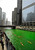 The Chicago River is dyed green right before the start of the St. Patrick's Day parade in Chicago, Saturday, March, 16, 2013.  With the holiday itself falling on a Sunday, many celebrations were scheduled instead for Saturday because of religious observances. (AP Photo/Paul Beaty)