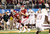 Landry Jones #12 of the Oklahoma Sooners passes against the Oklahoma Sooners during the Cotton Bowl at Cowboys Stadium on January 4, 2013 in Arlington, Texas.  (Photo by Ronald Martinez/Getty Images)