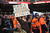 Broncos fans show their support during the first half.  The Denver Broncos vs Baltimore Ravens AFC Divisional playoff game at Sports Authority Field Saturday January 12, 2013. (Photo by Hyoung Chang,/The Denver Post)
