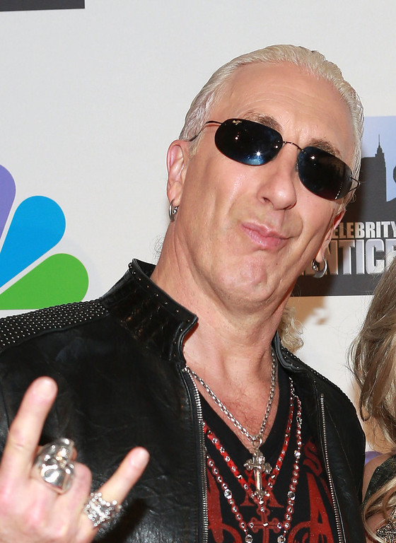 "Description of . Dee Snider attends ""All Star Celebrity Apprentice\"" Finale at Cipriani 42nd Street on May 19, 2013 in New York City.  (Photo by Robin Marchant/Getty Images)"