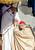 Pope Francis salutes cardinal Tarcisio Bertone in St. Peter's Square at the Vatican, Tuesday, March 19, 2013. Pope Francis urged princes, presidents, sheiks and thousands of ordinary people gathered for his installation Mass on Tuesday to protect the environment, the weakest and the poorest, mapping out a clear focus of his priorities as leader of the world's 1.2 billion Catholics. (AP Photo/Dmitry Lovetsky)