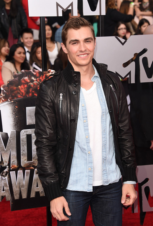 Description of . Actor Dave Franco attends the 2014 MTV Movie Awards at Nokia Theatre L.A. Live on April 13, 2014 in Los Angeles, California.  (Photo by Jason Merritt/Getty Images for MTV)