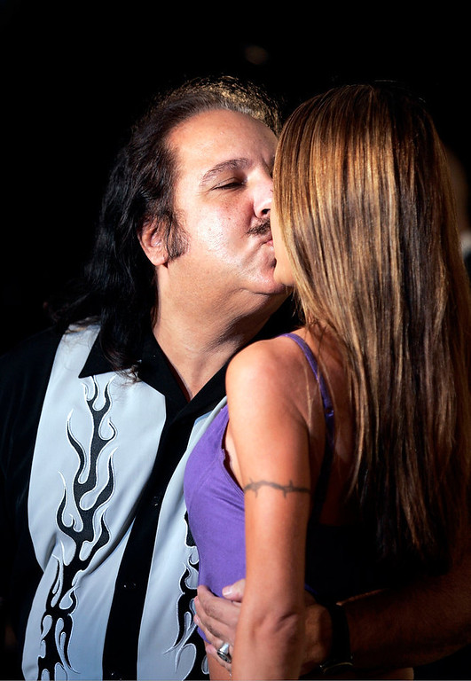 Description of . Adult film actors Ron Jeremy and Tabitha Stevens attend the VH1 - Big in '04 at the Shrine Auditorium December 1, 2004 in Los Angeles, California. (Photo by Carlo Allegri/Getty Images)