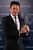Sky Diver Felix Baumgartner poses with the award for Laureus World Action Sportsperson of the Year in the winners studio during the 2013 Laureus World Sports Awards at Theatro Municipal do Rio de Janeiro on March 11, 2013 in Rio de Janeiro, Brazil.  (Photo by Ian Walton/Getty Images For Laureus)
