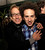 Actors Andy Dick (L) and Josh Sussman pose at the after party for the premiere of Relativity Media's