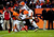 Cleveland Browns wide receiver Josh Cribbs (16) fumbles a punt in the second half.  The Broncos recovered the ball.  The Denver Broncos vs Cleveland Browns at Sports Authority Field Sunday December 23, 2012. AAron  Ontiveroz, The Denver Post