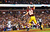 Logan Paulsen #82 of the Washington Redskins celebrates his first quarter touchdown against the Seattle Seahawks during the NFC Wild Card Playoff Game at FedExField on January 6, 2013 in Landover, Maryland.  (Photo by Al Bello/Getty Images)