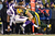 Quarterback Joe Webb #14 of the Minnesota Vikings is hit by outside linebacker Clay Matthews #52 of the Green Bay Packers after throwing the ball in the second half during the NFC Wild Card Playoff game at Lambeau Field on January 5, 2013 in Green Bay, Wisconsin.  (Photo by Andy Lyons/Getty Images)