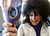 Karen Bobe checks her wig before posing in a Hairspray-themed photo on Park City's Main Street on the second day of the Sundance Film Festival Friday January 18, 2013. Trent Nelson  |  The Salt Lake Tribune