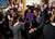 US President Barack Obama and first lady Michelle Obama greet family members of fallen soldiers after a Medal of Honor ceremony in the East Room of the White House on February 11, 2013 in Washington.   AFP PHOTO/Brendan  SMIALOWSKI/AFP/Getty Images