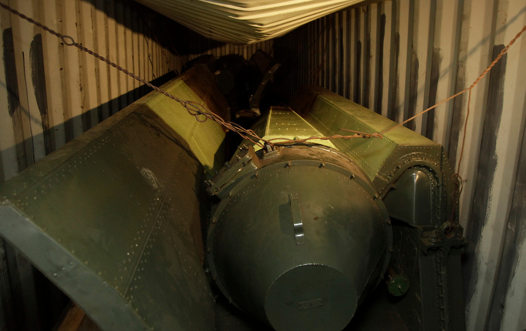 Description of . Military equipment lays in containers aboard a North Korean-flagged ship at the Manzanillo International container terminal on the coast of Colon City, Panama, Tuesday, July 16, 2013. (AP Photo/Arnulfo Franco)