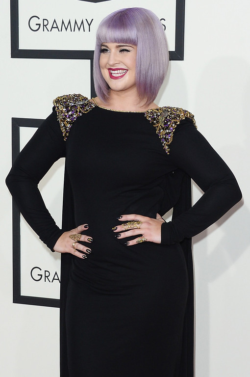 Description of . TV personality Kelly Osbourne attends the 56th GRAMMY Awards at Staples Center on January 26, 2014 in Los Angeles, California.  (Photo by Jason Merritt/Getty Images)