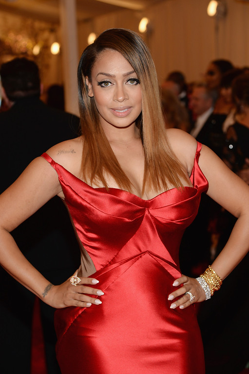Description of . La La Anthony attends the Costume Institute Gala for the