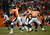 Denver Broncos quarterback Peyton Manning (18) makes a pass in the third quarter. The Denver Broncos vs Baltimore Ravens AFC Divisional playoff game at Sports Authority Field Saturday January 12, 2013. (Photo by Joe Amon,/The Denver Post)