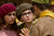 Newcomers Kara Hayward as Suzy and Jared Gilman as Sam in Wes Anderson's