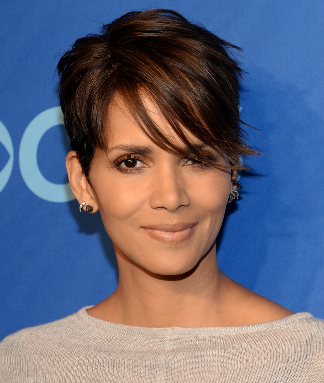 Description of . FILE - In this May 14, 2014 file photo, actress Halle Berry attends the CBS Network Upfront presentation at Lincoln Center in New York. Berry stopped a man from entering her home through her kitchen door in July 2011, leading to Richard A. Franco's arrest on stalking and burglary charges. He pleaded no contest to stalking and was ordered to stay away from the Oscar-winning actress for 10 years and undergo psychiatric counseling in January 2012, with prosecutors agreeing to drop the burglary charge.  (Photo by Evan Agostini/Invision/AP, file)
