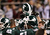 The Michigan State Spartans huddle up before the Buffalo Wild Wings Bowl against the TCU Horned Frogs at Sun Devil Stadium on December 29, 2012 in Tempe, Arizona.  (Photo by Christian Petersen/Getty Images)