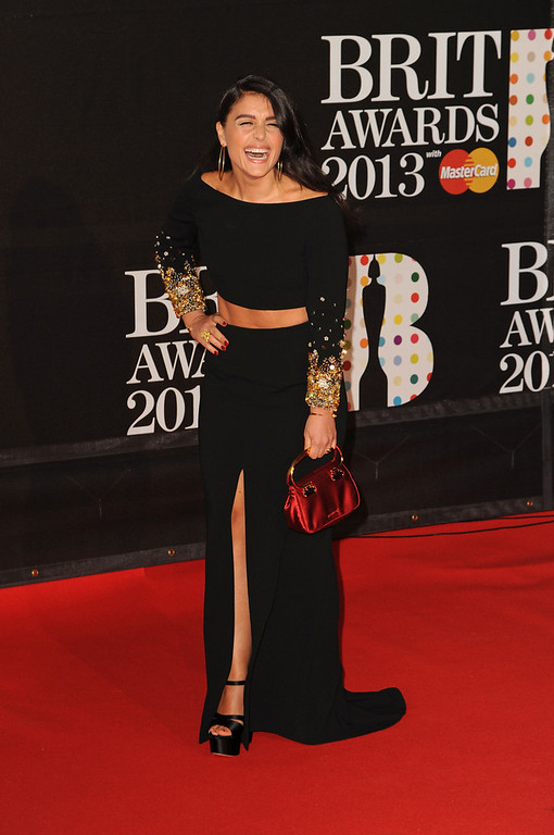 Description of . Jessie Ware attends the Brit Awards 2013 at the 02 Arena on February 20, 2013 in London, England.  (Photo by Eamonn McCormack/Getty Images)