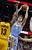 Denver Nuggets' Danilo Gallinari (8), from Italy, shoots over Cleveland Cavaliers' Tristan Thompson (13) in the first quarter of an NBA basketball game Saturday, Feb. 9, 2013, in Cleveland. (AP Photo/Mark Duncan)