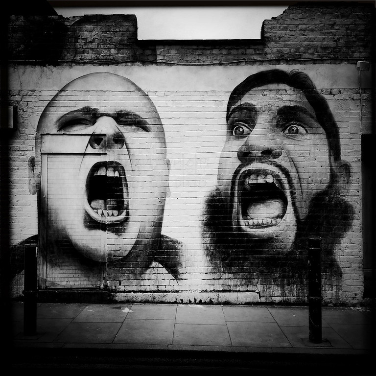 Description of . A graffito is displayed on May 1, 2012 in London, England.  (Photo by Vittorio Zunino Celotto/Getty Images)