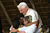 Pope Benedict XVI has announced that he is to resign on February 28, 2013 GUARANTIGUETA, BRAZIL - MAY 12:  Pope Benedict XVI embraces children during a visit at the Fazenda da Esperanca, a facility for recovering drug addicts, May 12, 2007 in Guaratingueta, Brazil. The pope is on a five-day visit to Brazil.  (Photo by Franco Origlia/Getty Images)