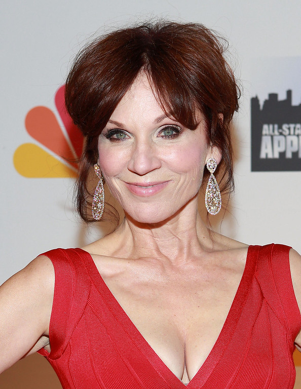 "Description of . Actress Marilu Henner attends ""All Star Celebrity Apprentice\"" Finale at Cipriani 42nd Street on May 19, 2013 in New York City.  (Photo by Robin Marchant/Getty Images)"