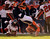 Denver Broncos wide receiver Eric Decker #87 is taken down by Tampa Bay Buccaneers cornerback E.J. Biggers #31 during the first quarter.  The Denver Broncos vs The Tampa Bay Buccaneers at Sports Authority Field Sunday December 2, 2012. John Leyba, The Denver Post