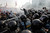 Russian riot police disperse opposition protesters in downtown Moscow on Sunday, May 6, 2012. Riot police in Moscow have begun arresting protesters who were trying to reach the Kremlin in a demonstration on the eve of Vladimir Putin's inauguration as president. (AP Photo/Sergey Ponomarev)