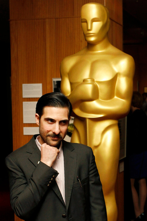 Description of . Actor Jason Schwartzman arrives at Oscar Celebrates: Shorts, featuring this year's Oscar-nominated films in the Animated and Live-Action Short Film categories at the Academy of Motion Picture Arts and Sciences in Beverly Hills, California, February 19, 2013. REUTERS/Jonathan Alcorn