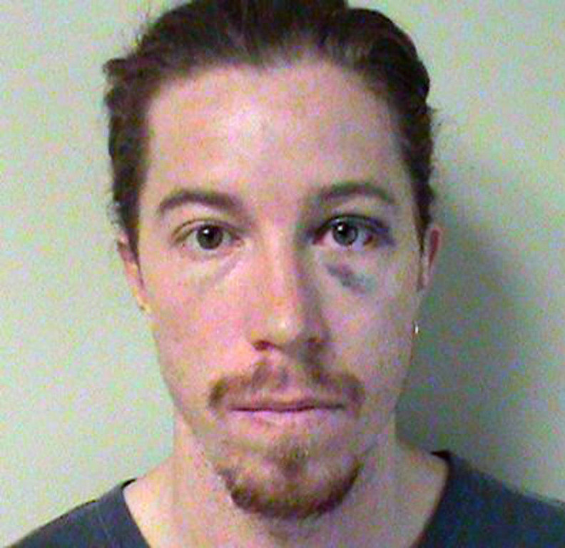 Description of . This booking photo obtained on September 19, 2012 courtesy of the Nashville Metropolitan Police Department shows Olympic gold medalist Shaun White. Two-time Olympic snowboarding gold medalist Shaun White has been charged with public intoxication and vandalism after an incident at a Nashville hotel, police said September 17, 2012. White, 26, was a guest at the Loews Vanderbilt in the Tennessee city where the incident took place September 16, 2012.
