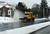 A snow truck sweeps snow from a road in Silver Spring, Maryland, on March 6, 2013.  AFP PHOTO/Jewel SAMAD/AFP/Getty Images