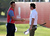 Martin Kaymer of Germany and  Rory McIlroy of Northern Ireland during the second round of the Abu Dhabi HSBC Golf Championship at the Abu Dhabi Golf Club on January 18, 2013 in Abu Dhabi, United Arab Emirates.  (Photo by Ross Kinnaird/Getty Images)