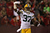 Cornerback Sam Shields #37 of the Green Bay Packers celebrates after scoring a touchdown off of an interception against quarterback Colin Kaepernick #7 of the San Francisco 49ers in the first quarter during the NFC Divisional Playoff Game at Candlestick Park on January 12, 2013 in San Francisco, California.  (Photo by Stephen Dunn/Getty Images)