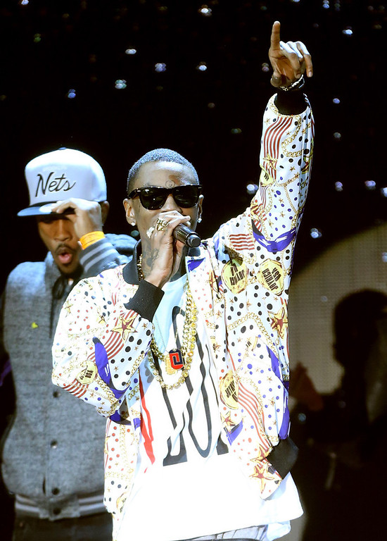 Description of . Rapper Soulja Boy performs onstage at the 3rd Annual Streamy Awards at Hollywood Palladium on February 17, 2013 in Hollywood, California.  (Photo by Frederick M. Brown/Getty Images)