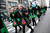 Parade participants march on Fifth Avenue during the 252nd annual St. Patrick's Day Parade March 16, 2013 in New York City. The parade honors the patron saint of Ireland and was held for the first time in New York on March 17, 1762, 14 years before the signing of the Declaration of Independence. (Photo by Ramin Talaie/Getty Images)