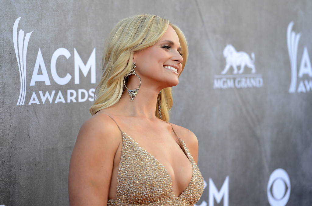 Description of . Musician Miranda Lambert attends the 49th Annual Academy Of Country Music Awards at the MGM Grand Garden Arena on April 6, 2014 in Las Vegas, Nevada.  (Photo by Jason Merritt/Getty Images)