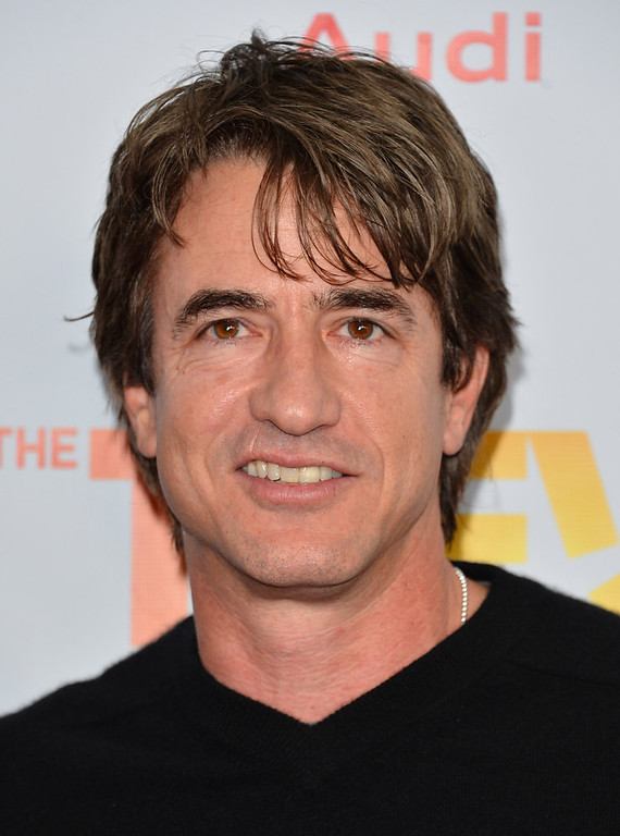 Description of . Actor Dermot Mulroney arrives to The Trevor Project\'s \'Trevor Live\' event honoring singer Katy Perry at the Hollywood Palladium on December 2, 2012 in Hollywood, California.  (Photo by Alberto E. Rodriguez/Getty Images)