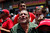 A man screams as the coffin of Venezuela's late President Hugo Chavez passes in the street as it is paraded from the hospital where he died on Tuesday to a military academy where it will remain until his funeral in Caracas, Venezuela, Wednesday, March 6, 2013. (AP Photo/Rodrigo Abd)