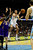 Denver Nuggets small forward Danilo Gallinari (8) passes the ball in traffic against the Los Angeles Lakers defense during the first half at the Pepsi Center on Wednesday, December 26, 2012. AAron Ontiveroz, The Denver Post