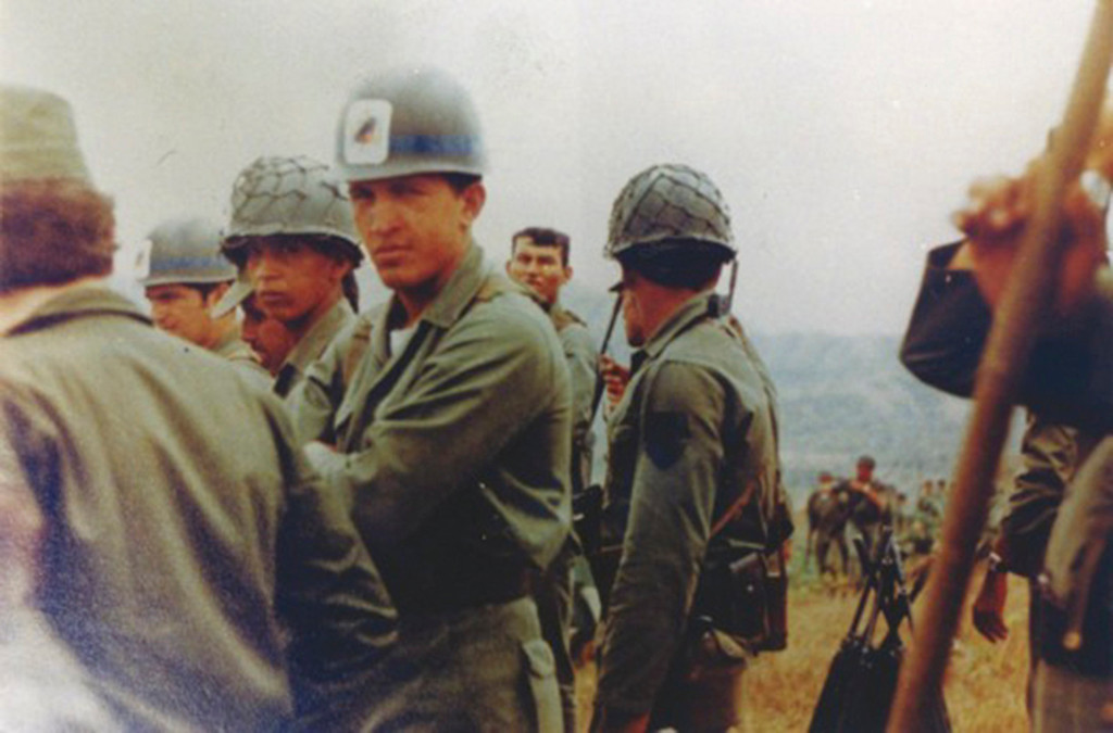 Description of . Venezuela's President Hugo Chavez is pictured during his army years, in this undated handout photo provided by Venezuela's Ministry of Information and Communication. REUTERS/Ministry of Information and Communication/Handout