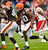 CLEVELAND, OH - DECEMBER 09: Wide receiver Travis Benjamin #80 of the Cleveland Browns runs for a touchdown during the first half against the Kansas City Chiefs at Cleveland Browns Stadium on December 9, 2012 in Cleveland, Ohio. (Photo by Jason Miller/Getty Images)