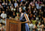 First Lady of the United States, Michelle Obama, on a grassroots campaign stop at Arapahoe High School Wednesday morning, June 20th, 2012, to help re-elect her husband, President of the United States, Barack Obama. Andy Cross, The Denver Post