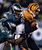 Cincinnati Bengals' Andy Dalton, right, is sacked by Philadelphia Eagles' Brandon Graham, left, and Fletcher Cox in the second half of an NFL football game on Thursday, Dec. 13, 2012, in Philadelphia. (AP Photo/Matt Rourke)